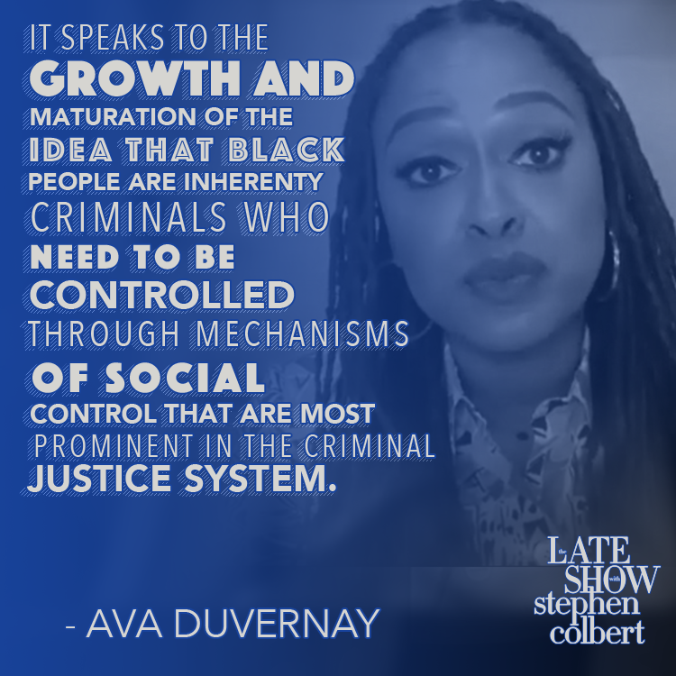 .@ava explains Trump's subliminal messaging behind 'law and order.' #LSSC cbs.com/shows/the-late…