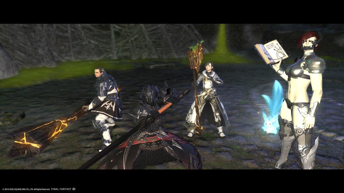 自分の小隊でダンジョン攻略! #PS4share #FF14 #暗黒騎士 #小隊