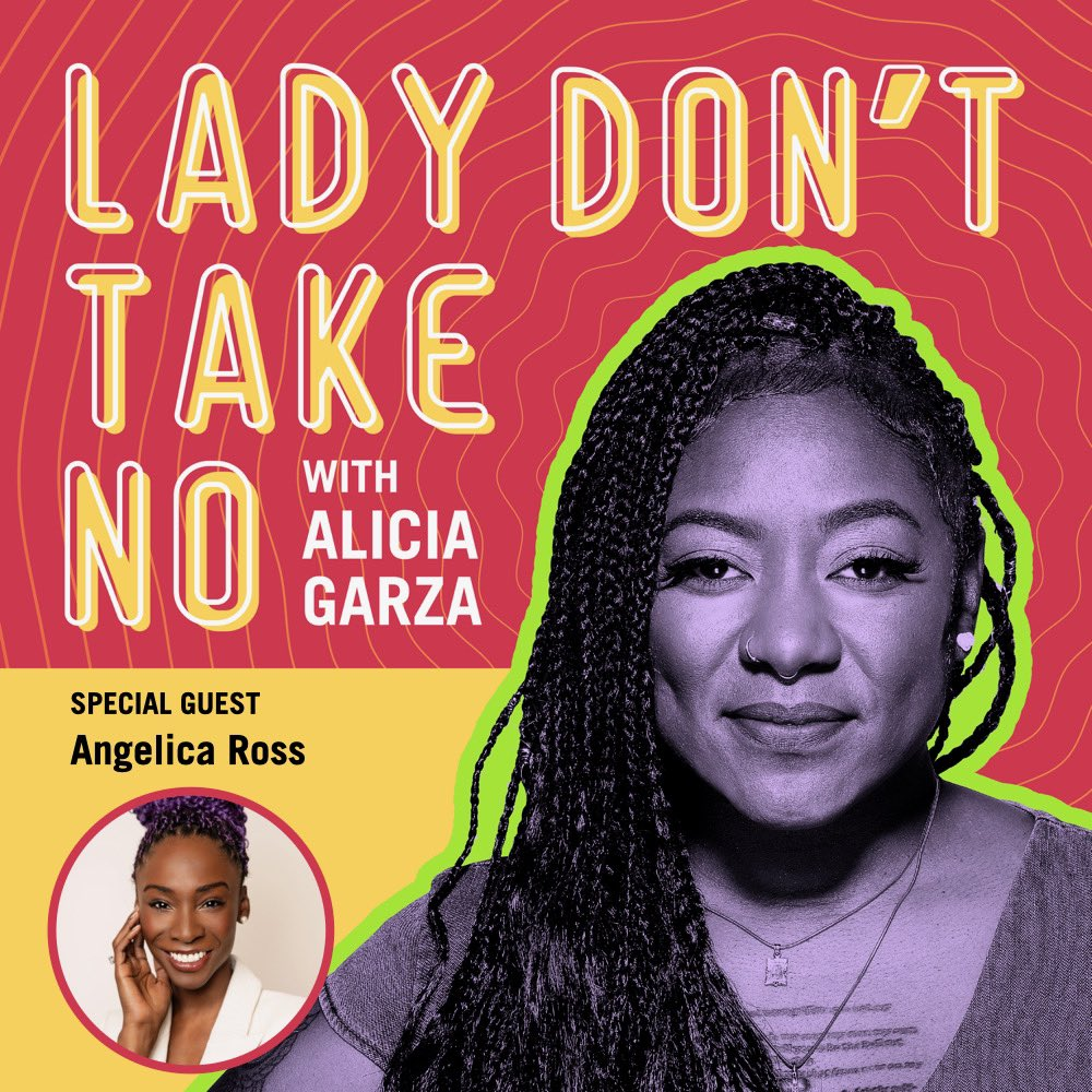 This week on @lady_take we are joined by the incredible @angelicaross from the hit show @PoseOnFX! Join us as we talk growing with grace, finding your purpose, and how tech can be used for harm reduction. Tune in! #DoWhatchaLike lady-dont-take-no.simplecast.com/episodes/to-gr…