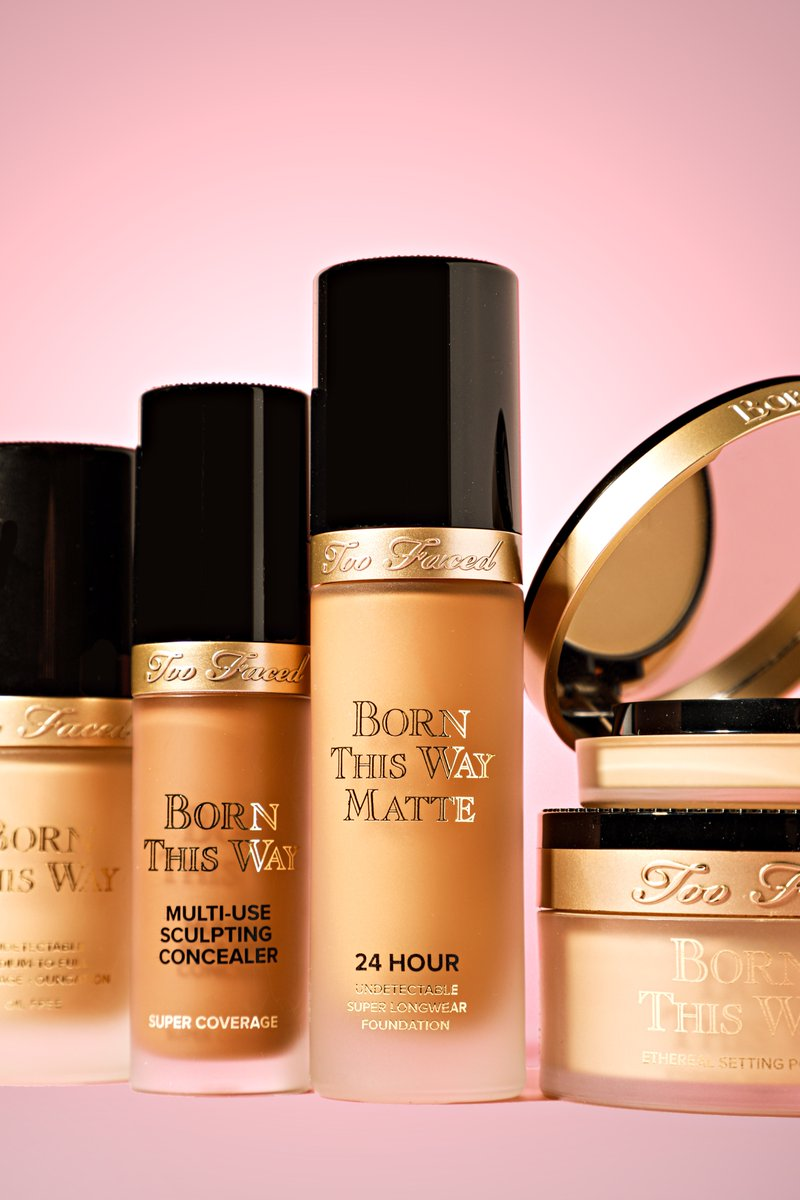 Too Faced Cosmetics On Twitter Say Hello To The Newest Addition Of Our Born This Way Complexion Family Born This Way Matte Foundation Shop Your Perfect Shade Worry Free With