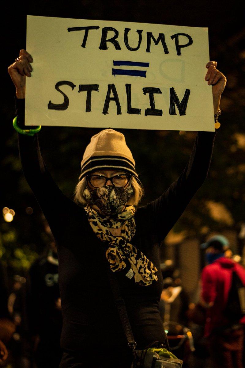 Протесты в Портленде 23-24 июля