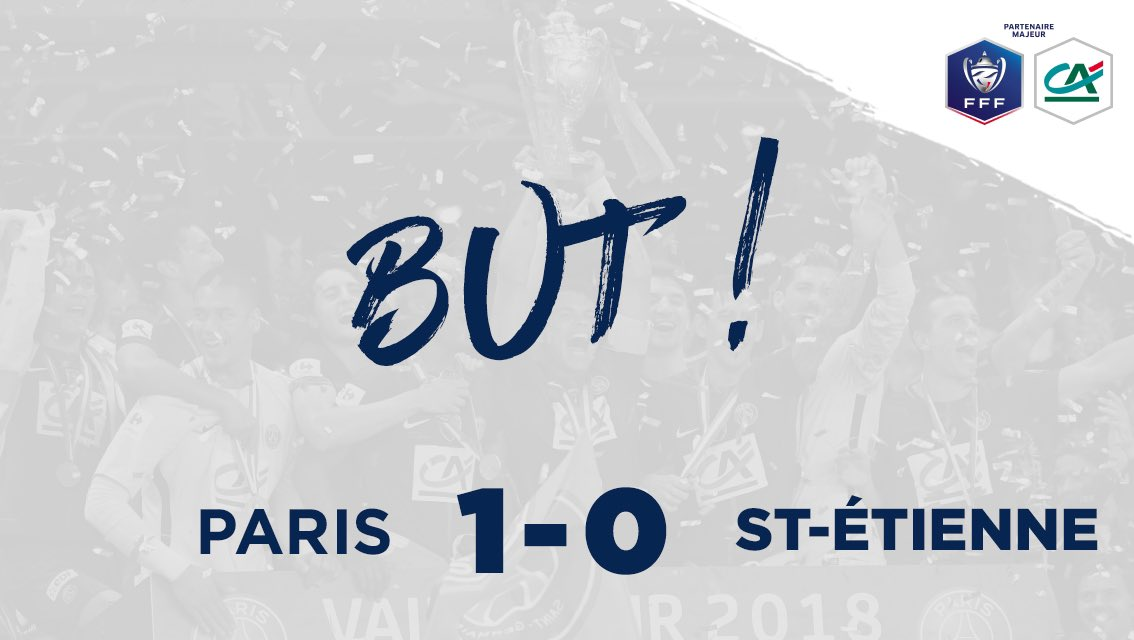 PARIS 1-0 ST-ÉTIENNE  BUUUUUUUUUUUUUUT DE NEYMAR !  #CôtéFoot #SportEcoleDeVie #PSGASSE https://t.co/KAbIck7Jsh