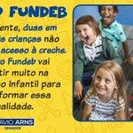 Image for the Tweet beginning: A Educação Infantil é a