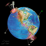 Image for the Tweet beginning: Seismic wave expanding, new movement