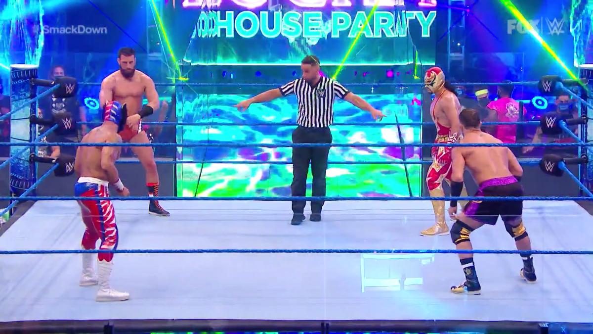 Gran Metalik Vs. WWE Intercontinental Champion AJ Styles Announced For Next Week's SmackDown
