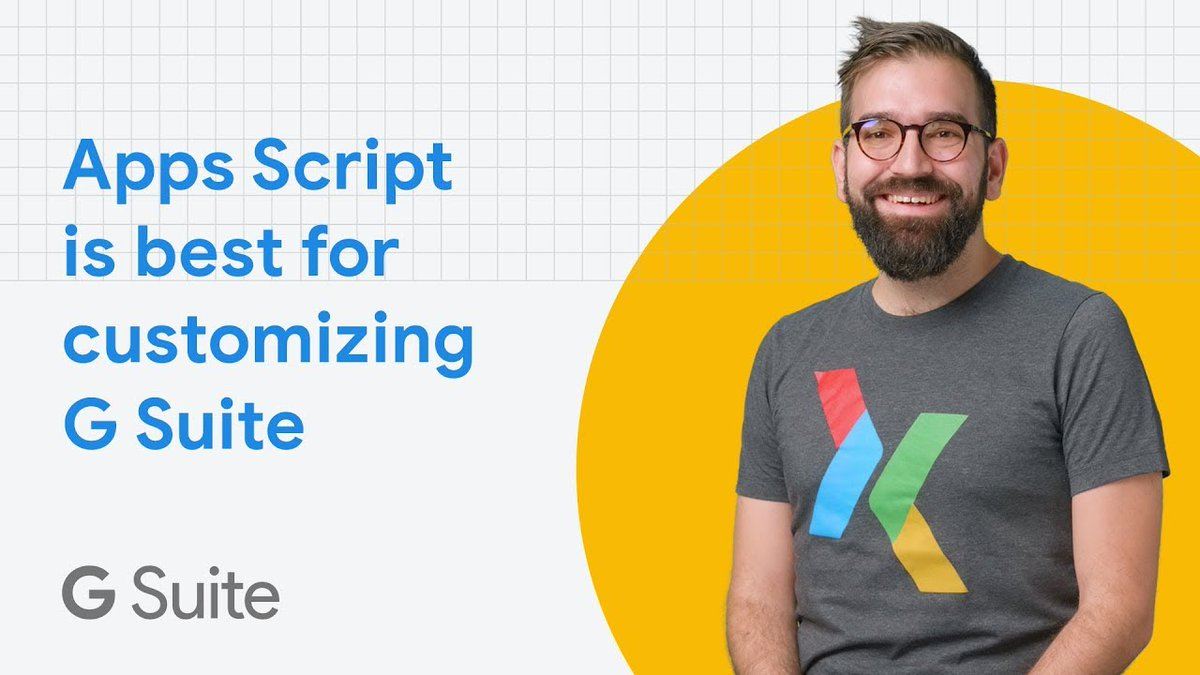 """Apps Script makes customizing @GSuite a breeze with the """"click-to-deploy"""" feature that allows for seamless deployment. @ivankutil shares how Apps Script improved and streamlined processes for a business with over 1 million global users.    Full story → https://t.co/o2foWvOObW https://t.co/nKuFL7L5EM"""