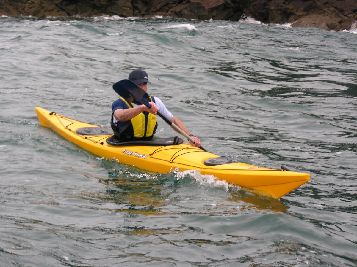 Airplanes are cool, but nobody will want to burn tons of jet fuel to cross the Atlantic when a socially-responsible kayak requires no fuel whatsoever.
