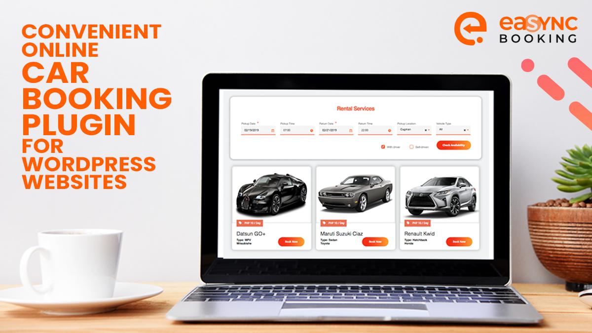 wordpress car rental plugin by easync coronavirus solution