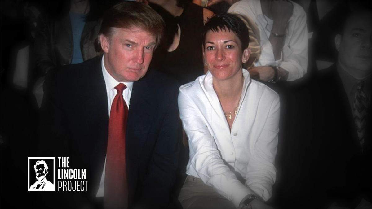 What does Ghislaine Maxwell have on @realDonaldTrump?