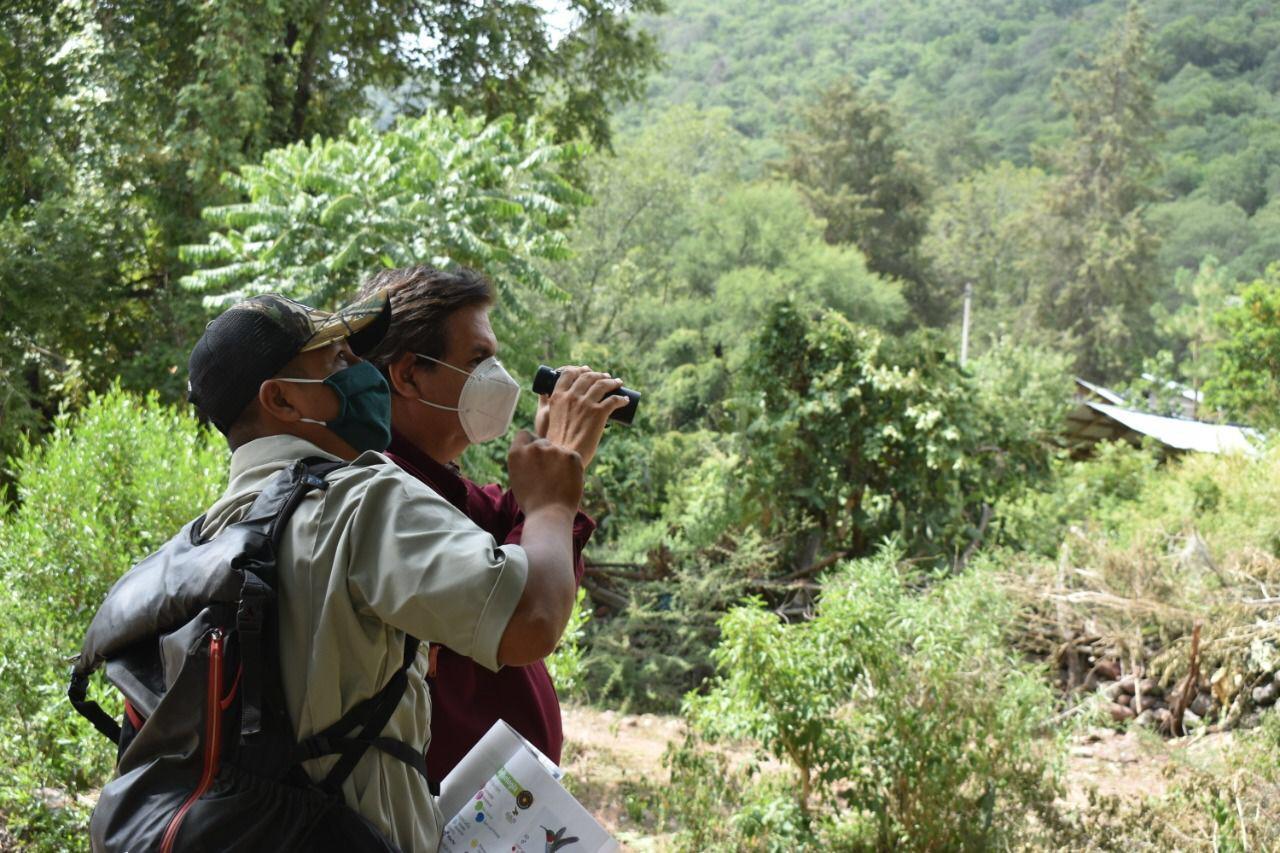 personas observando el paisaje en las nuevas rutas turisticas en san luis potosi