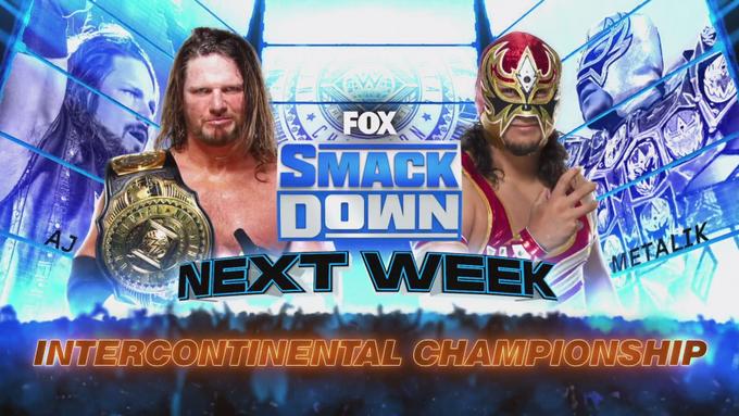 Dois combates por títulos são anunciados para o próximo SmackDown