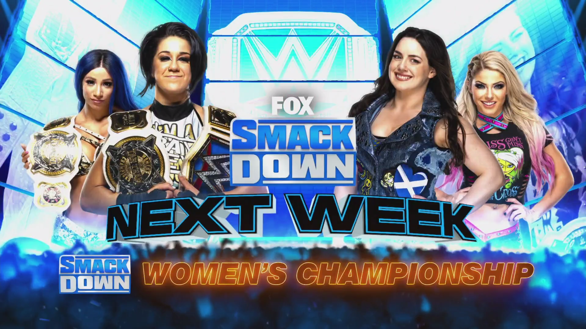 WWE Smackdown Preview (31/07/20): Styles-Metalik; Bayley-Cross; Mandy-Otis Returns 1