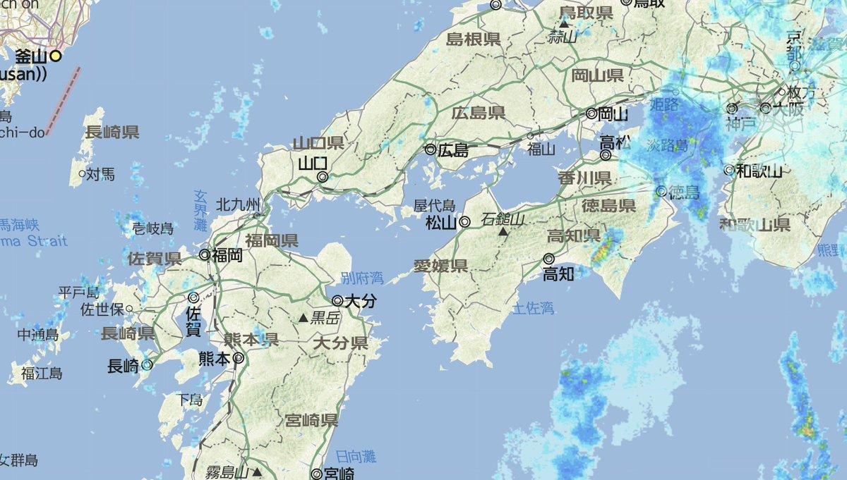 レーダー 佐世保 天気 雨雲