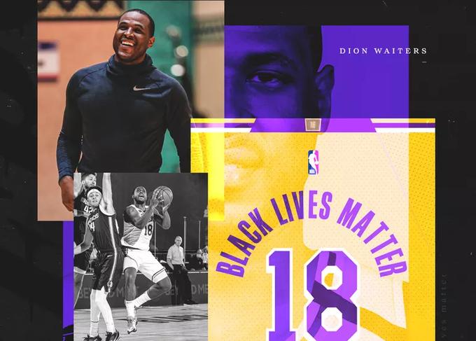 10名湖人球員選擇在復賽中使用球衣背後的社會信息!-黑特籃球-NBA新聞影音圖片分享社區