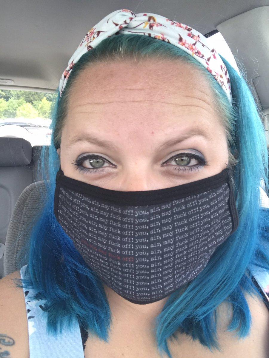 Just a reminder. Wear your fucking masks. ❤️ @CrimeInSports @MurderSmall