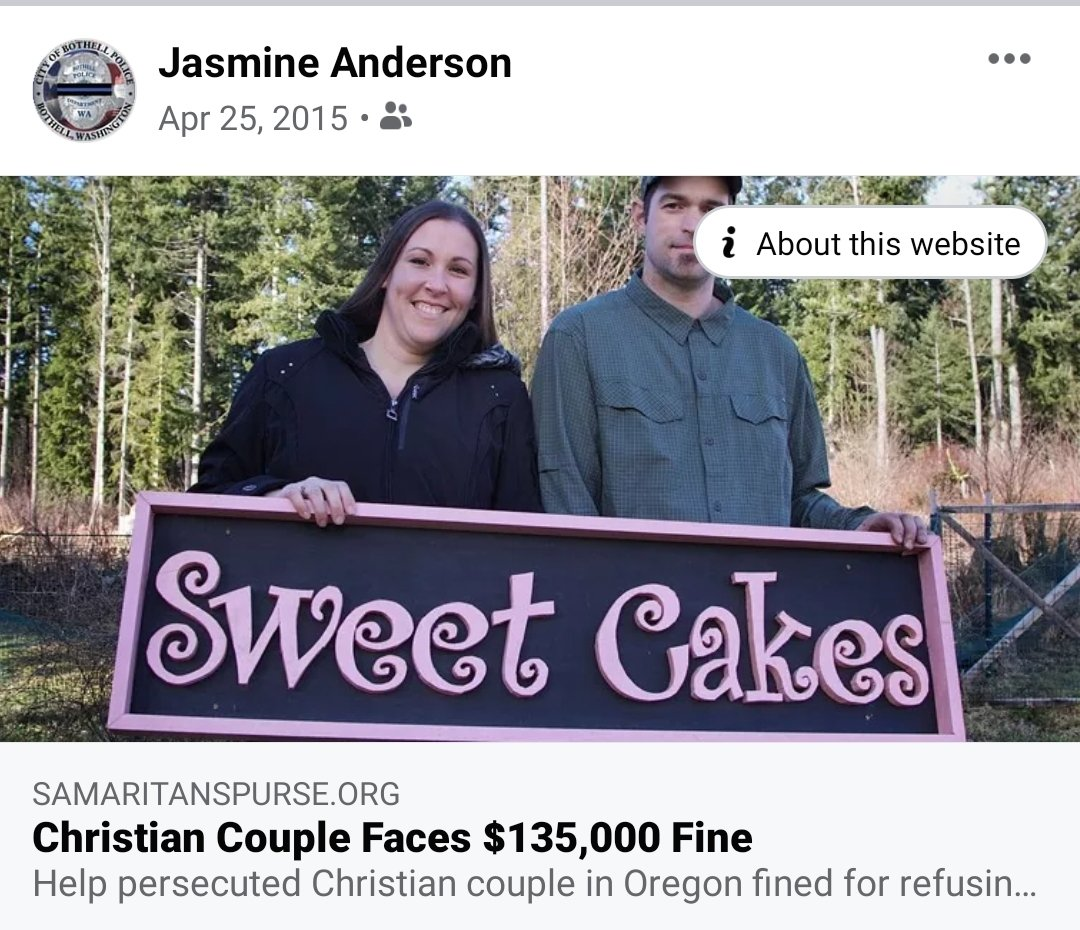 2/Audra Price, Jasmine Anderson and Mike Price are a family unit and are all homophobic Christian's that support discrimination against LGBTQ folks due to religious beliefs.
