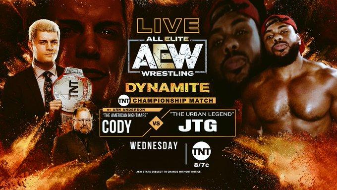 """Ex-WWE Superstar publica """"teaser"""" de possível luta contra Cody pelo TNT Championship"""