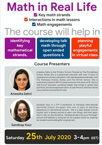 Time for some 'Talk Math' @anunarang76 @AneeshaSahni