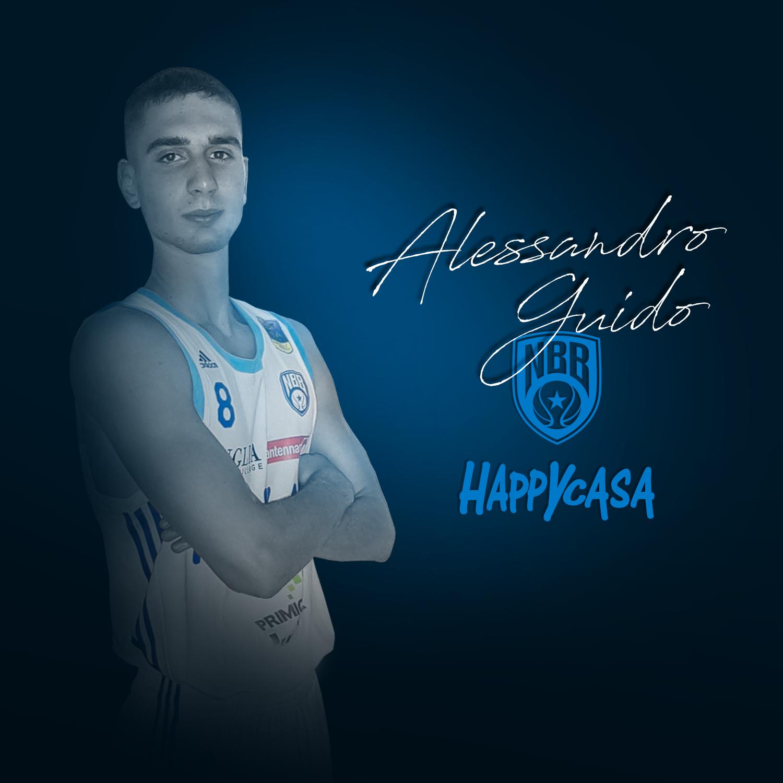 Brindisi, Alessandro Guido entra nel roster della prima squadra