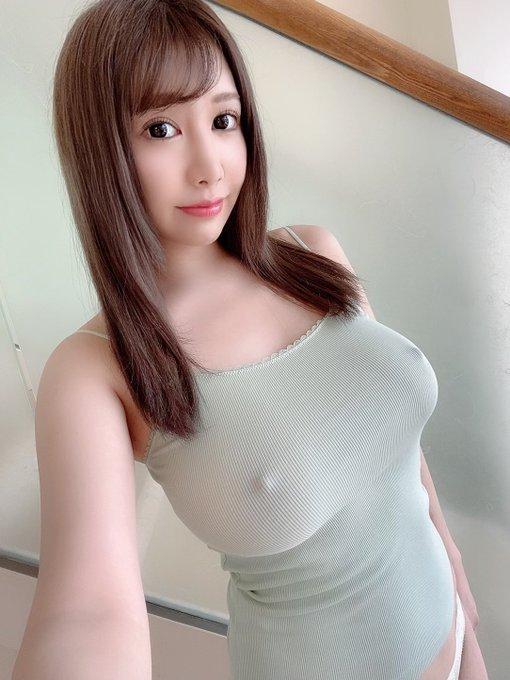 AV女優若月みいなのTwitter自撮りエロ画像9