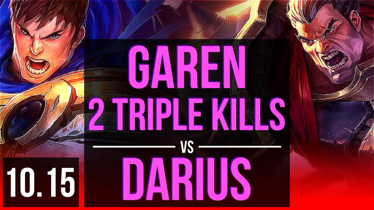 Garen Vs Darius Top