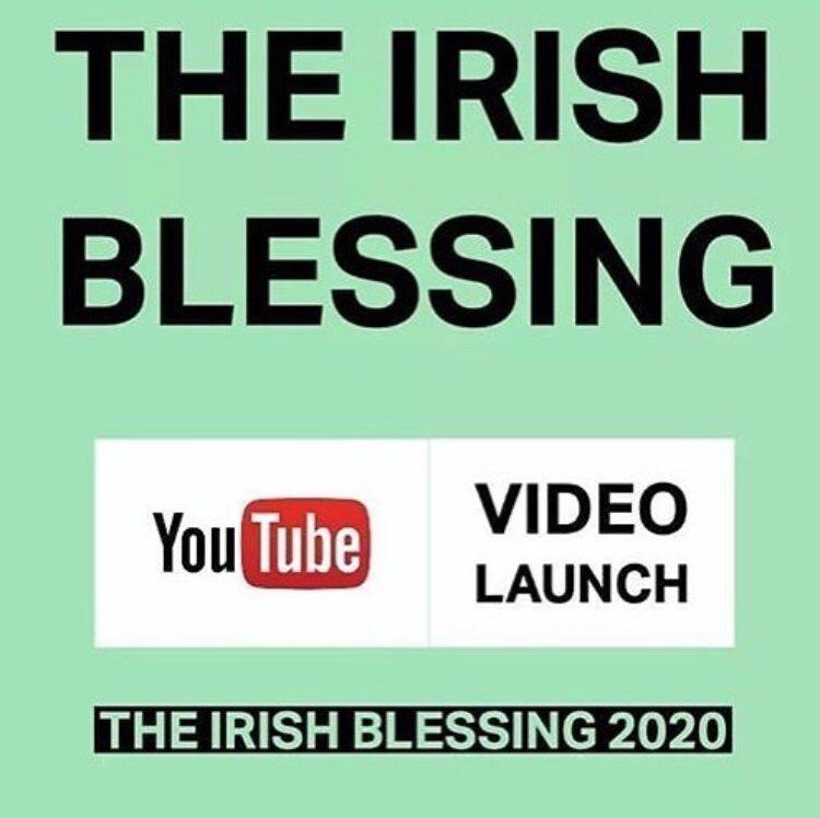 1 Milion views of 'The Irish Blessing' on YouTube 😍🙌🏻❤️🎤💫#irish #blessing #theirishblessing #newmusic #irishmusic #irishsinger #ireland #musicnews #GoodNews https://t.co/BJZH7KjIab