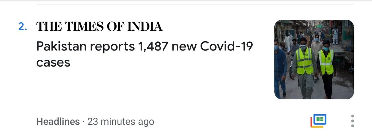 Why is @timesofindia only interested in #Pakistan's #coronavirus numbers? Is everything going well in #India? #OBSESSION https://t.co/O2FGvnA1QQ