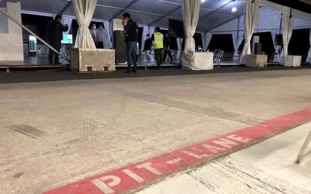 Autodromo Hermanos Rodriguez (#MexicanGP) being used as a temporary hospital https://t.co/e4Vi069r0q