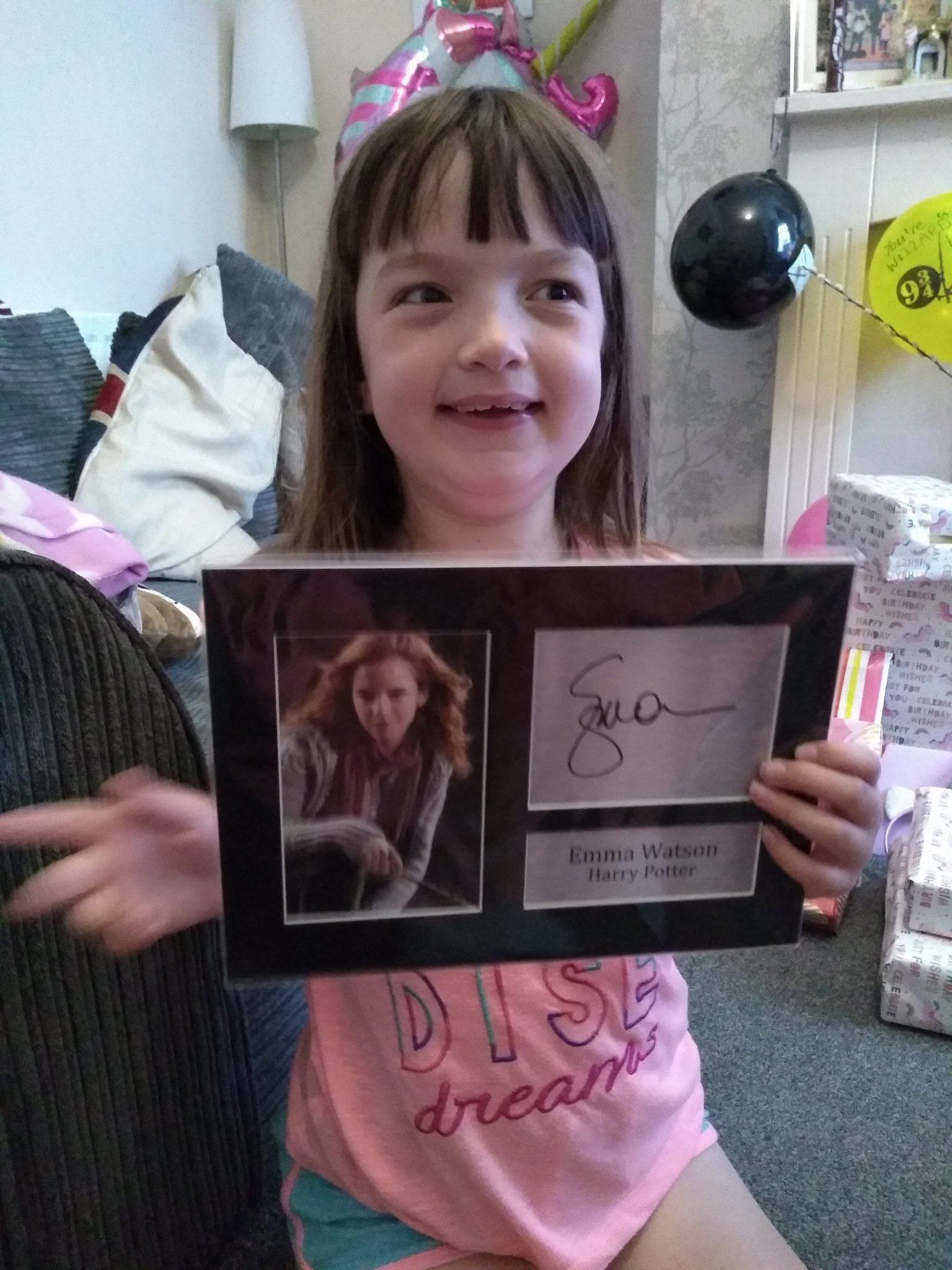 This little lady is 8 today loves Harry potter, Barbie and Dr Who. Happy birthday my World Lauren hope x