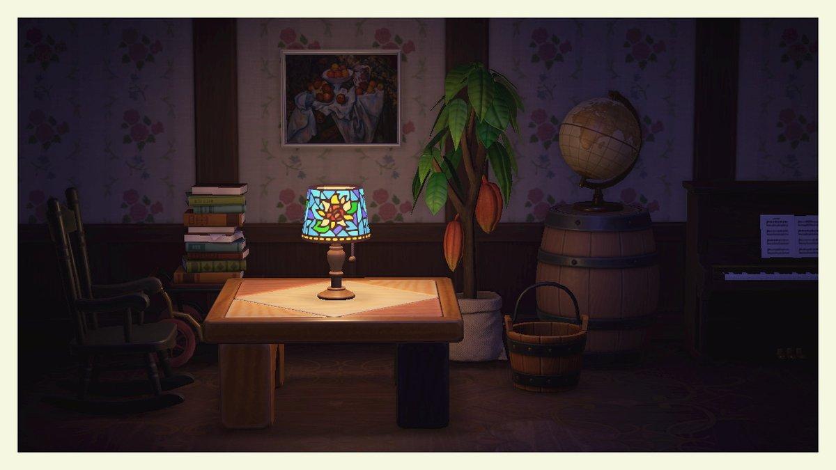 太陽の花のランプ#あつ森#マイデザイン #マイデザ #どうぶつの森 #AnimalCrossing #ACNH #NintendoSwitch