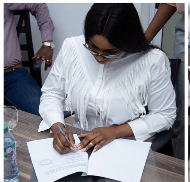 RT @Shetudeary: We have signed another deal! 💃🏾💃🏾💃🏾💃🏾 Congrats Tacha❤  #TachaDanceChallenge https://t.co/iO7bjZqTno