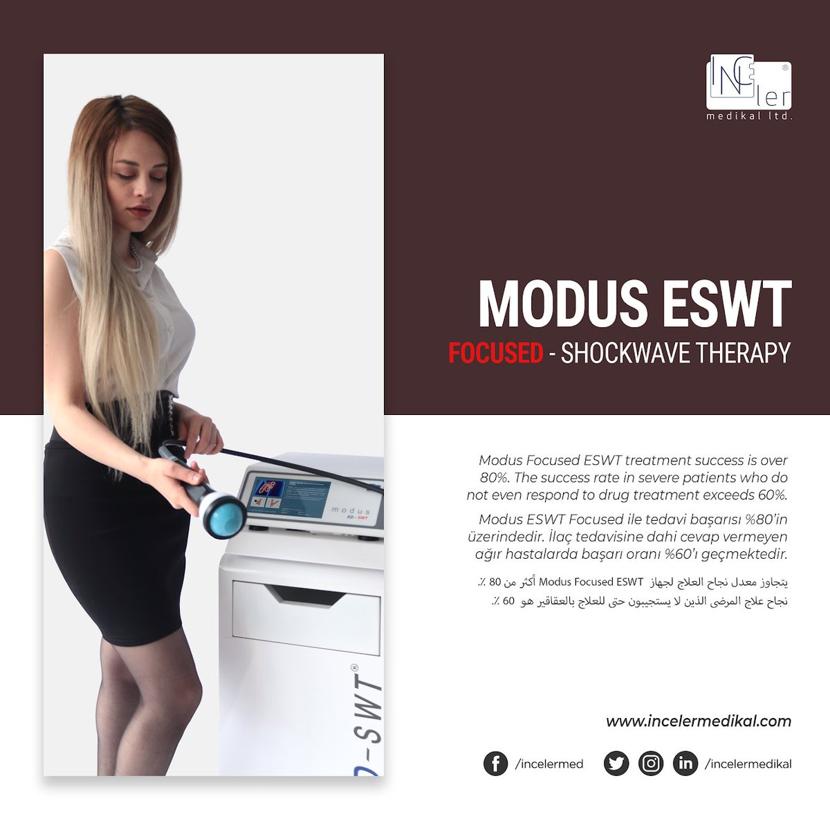 Modus Focused ESWT treatment success is over 80%. The success rate in severe patients who do not even respond to drug treatment exceeds 60%.  #shockwavetherapy #urology #shockwave #urologista #erectiledysfunction #üroloji #urologist #dysfunction #eswt #impotence #doctorpic.twitter.com/vYYX09CPZX