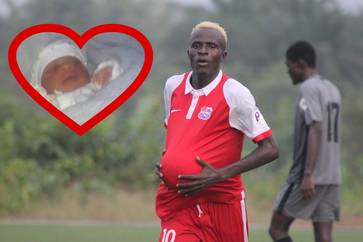 Sheku Sheriff brings a bouncing baby boy into the family. Let's congratulate him and welcome the new #BallPasser 👶