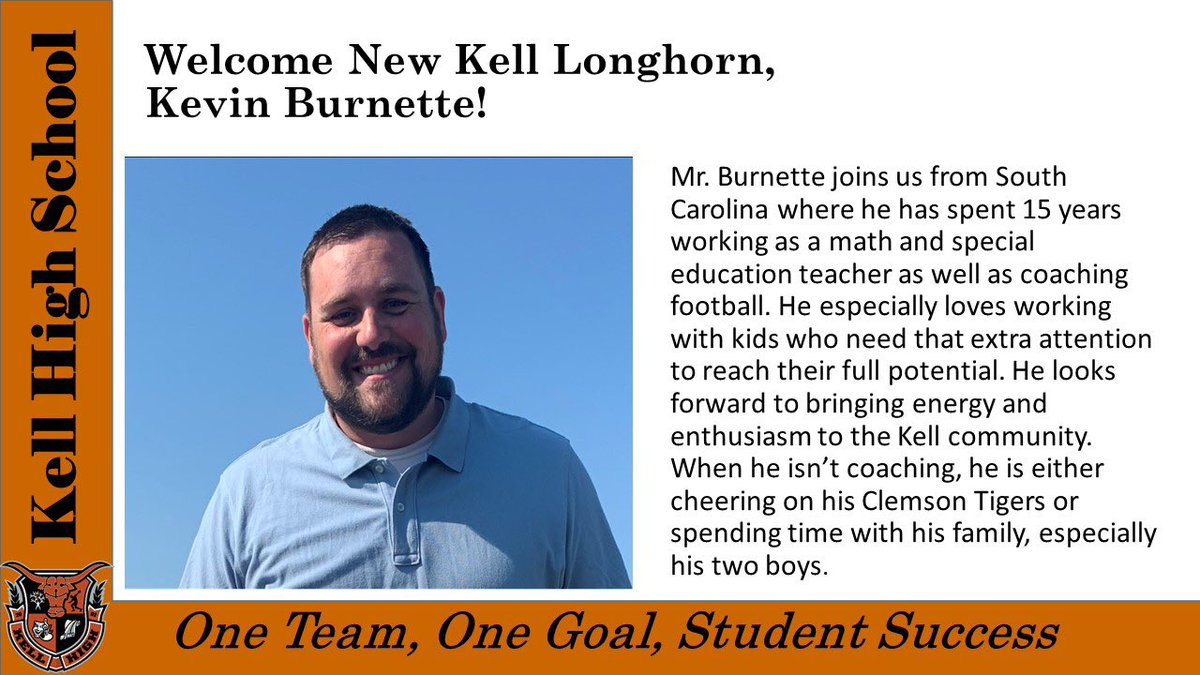 More excellence joining Kell this fall!