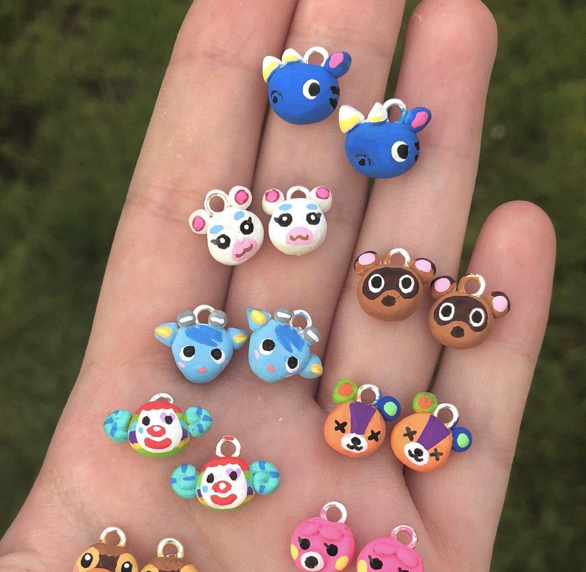 Animal Crossing Earrings