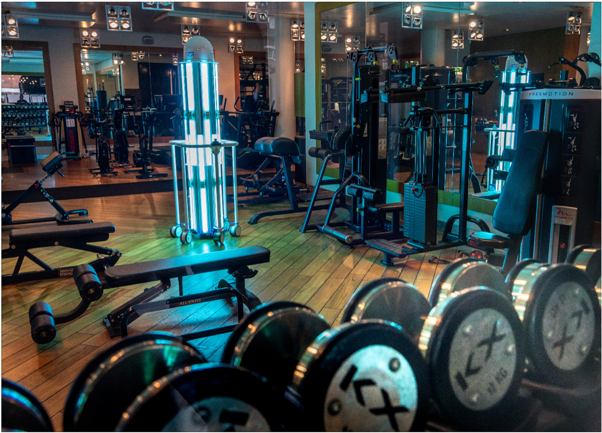 THOR UVC® setting the benchmark for other gyms to follow. The @KX_life members can return with absolute confidence that their gym is COVID-19 free. Read below how THOR UVC® is being used by KX to protect their members and staff. dailymail.co.uk/news/article-8… #uvcrobot #COVID19