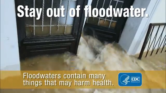 Image for the Tweet beginning: #Flood waters may pose risks,
