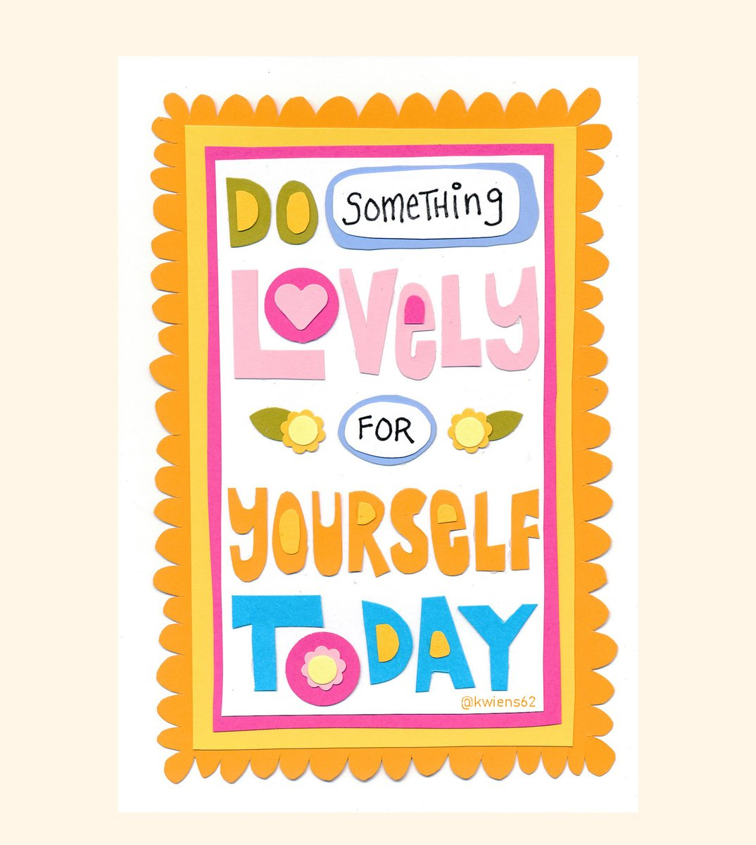 Do something lovely for yourself today. #DailyDoodle