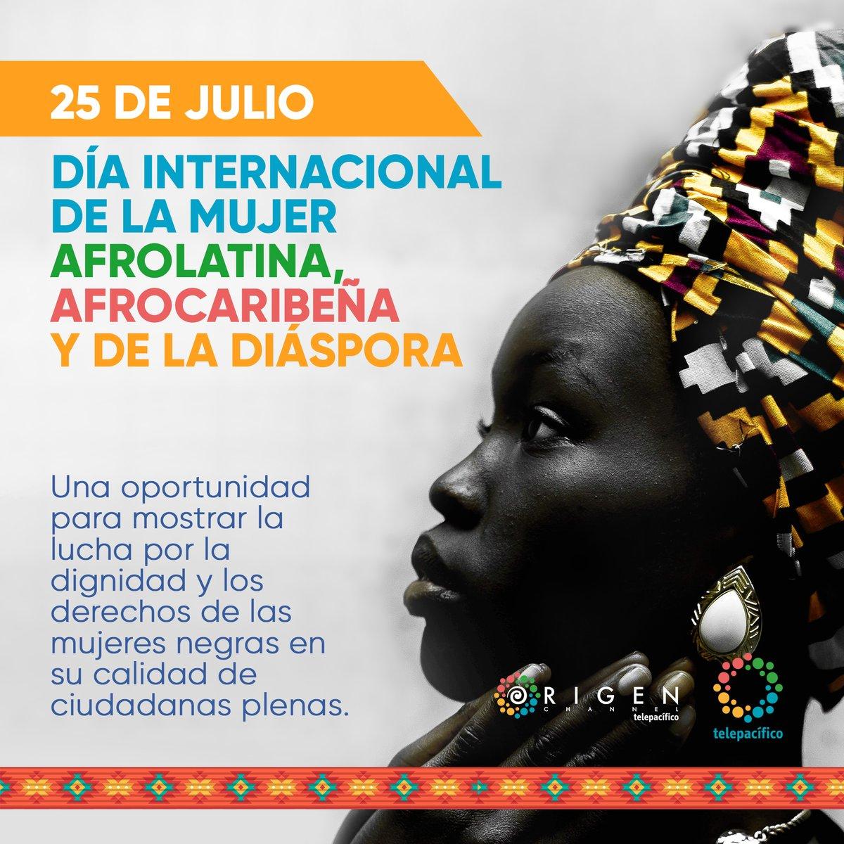 Hoy conmemoramos el Día Internacional de la Mujer Afrolatina, Afrocaribeña y de la Diáspora para rendir tributo a las luchas de las mujeres afrodescendientes y homenajeamos su poder y resistencia. https://t.co/dZ7PqeCiKR