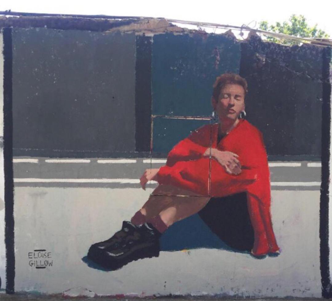 Artist: @eloisegillow Wall: #Barcelona, #WesternTown, #pintura #colores #muralismo #mural #streetartbarcelona #arteenlacalle #artalcarrer #artist #arte #streetartbcn #graffiti #graffitibarcelona #instagraff #streetart #barcelonastreetart #montanacolors #arteurbano #wallspotpic.twitter.com/e6PjOgx7cg