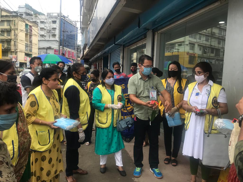 test Twitter Media - Lions Club of Dimapur Blue Vanda, under its COVID-19 Awareness Project: 'Health for All', donated 1,300 pieces of protective face masks and 460 pieces of soaps for mass distribution to the community. Thank you, Lions! https://t.co/iolaLWJYPD #WeServe https://t.co/BbsLaPeYtQ