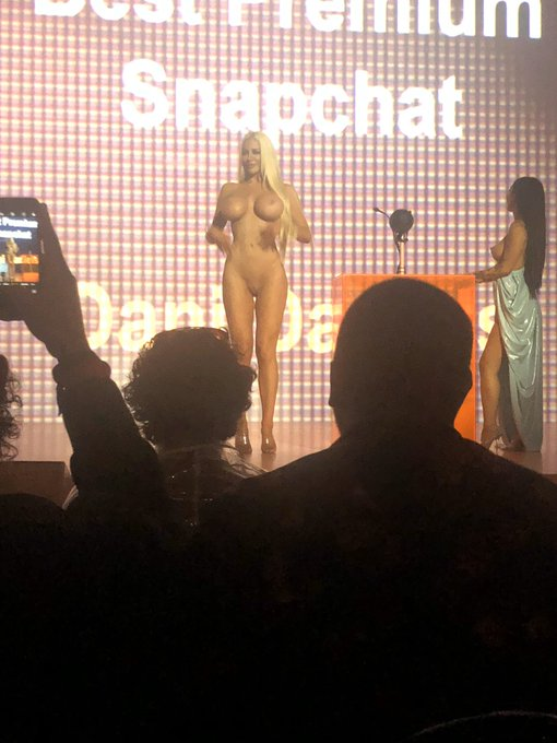 Throwback to when @kanyewest told me to walk on stage naked at the first ever @Pornhub awards in LA.