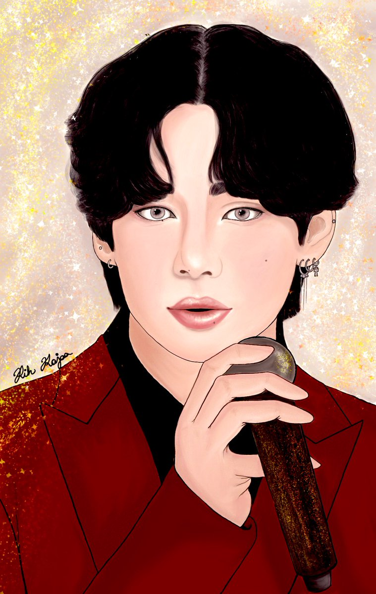 Golden Star Kim Taehyung!!The man you are today!💜💜 . So Sweet Night has achieved 112 #1 on iTunes🥳✨ it's now the song with the most #1's in iTunes history. Wow.  Let's celebrate💜 @BTS_twt  #TaehyungGoodBoy #SweetNight112개국1위 #taehyungfanart #BTSARMY #btsfanart #procreate https://t.co/p0bT9BPT9h