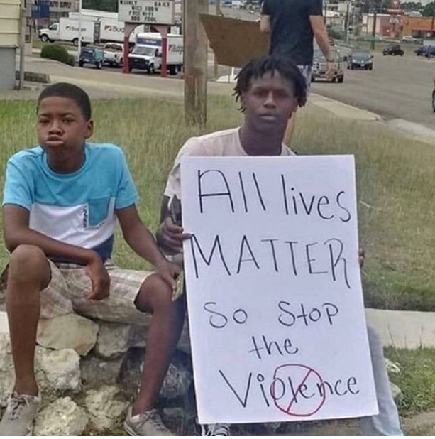 I'm with these two... #AllLivesMatter https://t.co/ItKFXnK41o