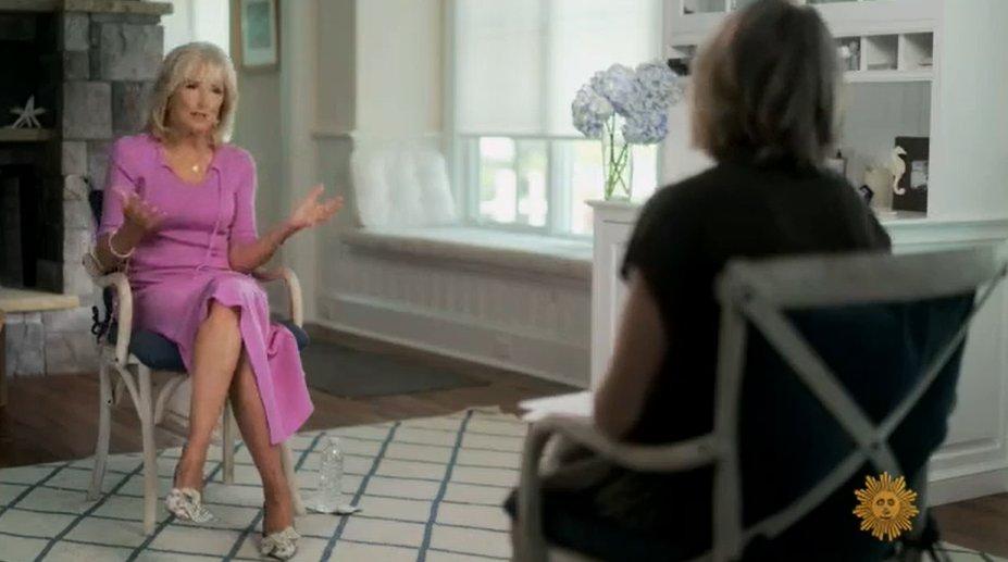 LOL wait. Why can Jill Biden do in person interviews but Joe Biden has to stay in the basement?? #HidenBiden