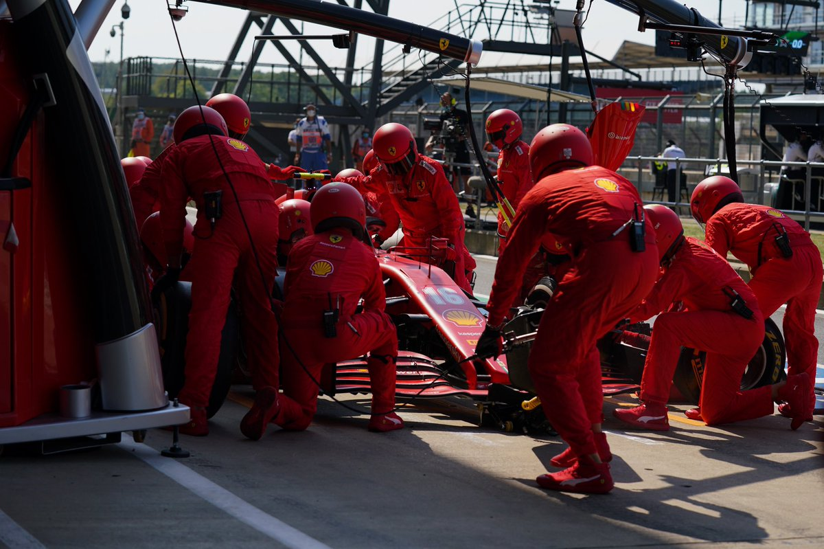 #Charles16 pitting for hard tyres, now he's P10 after passing NOR. #F170 https://t.co/oYTjZtVuv3
