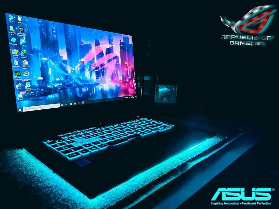 My new Everyday partner! Asus ROG Strix#rog #asus #asusgaming #asusrog #asuslaptop #gaming #gaminglaptop #republicofgamers #games #rgb #rogstrix #ASUS  @ASUS @ASUS_ROG @ASUS_ROGNApic.twitter.com/CNJ3uEYezO