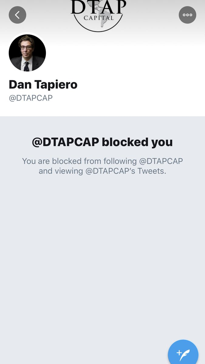 Can you even call yourself a Bitcoiner if he hasn't blocked you??? pic.twitter.com/TVtZYPUciz