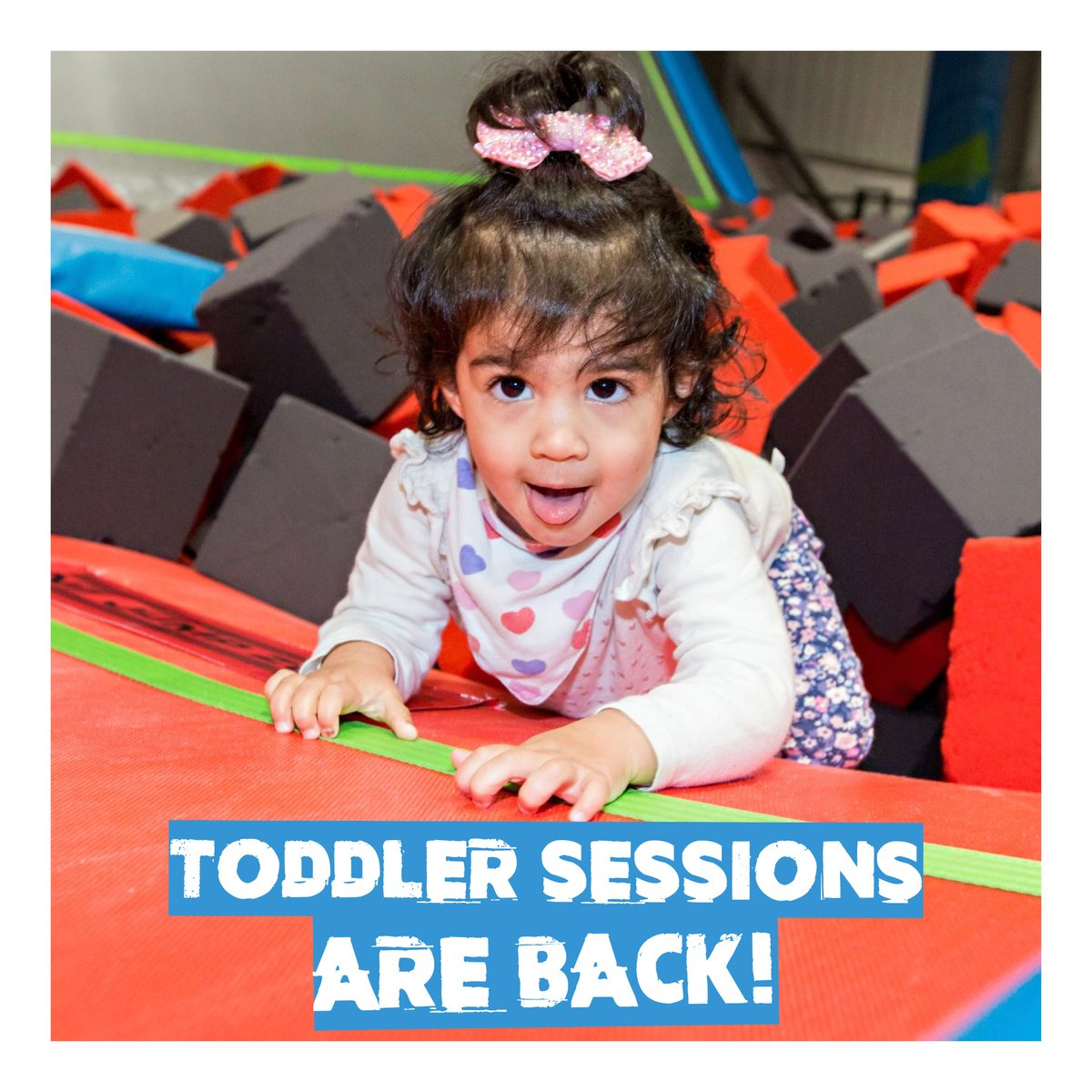 TODDLER SESSIONS ARE BACK  Come along at 10am every Sunday morning to let your little ones burn off some energy!  Book a toddler jump now http://rushuk.com    #rushuk #rushuktrampolinepark #feeltherush #trampolinepark #weareopen #toddlers #sundayfundaypic.twitter.com/8waE9XW2uJ