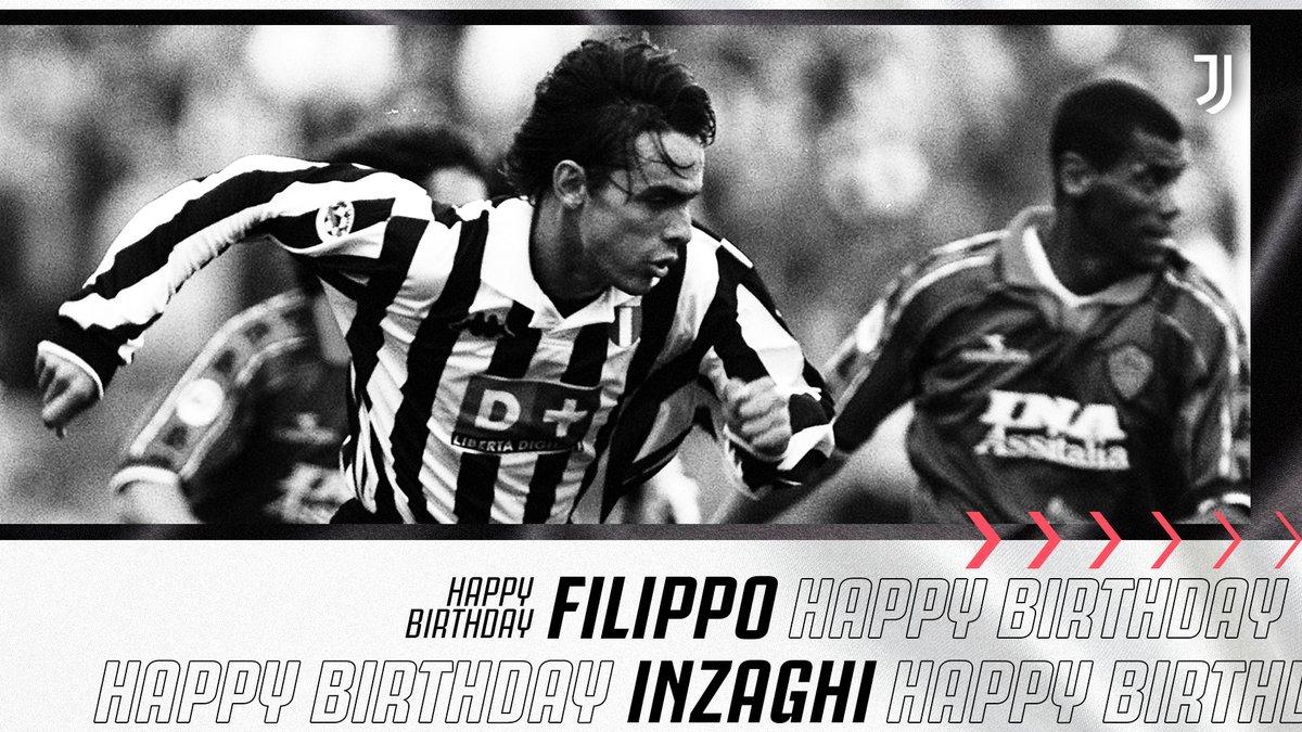 عيد ميلاد سعيد للاعبنا السابق فيليبو إنزاغي 🎂⚪️⚫️  #فورزا_يوفي  https://t.co/WpIApbjgdw
